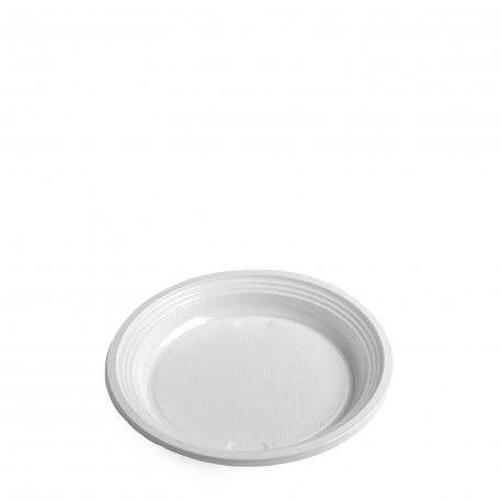 Talíř mělký, bílý (PS)  Ø 17 cm
