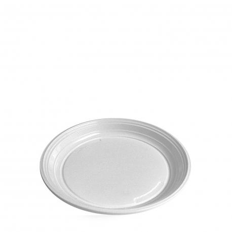 Talíř mělký, bílý (PS)  Ø 20,5 cm
