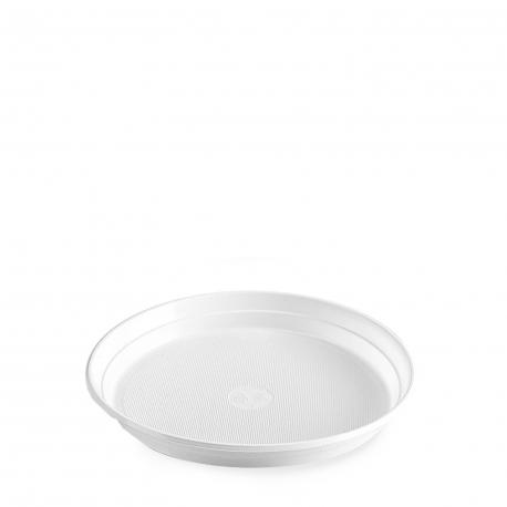 Talíř bílý (PS)  Ø 22 cm