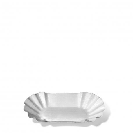 Papírové misky oválné (PAP/PE)  8 x 14,5 x 2,5 cm