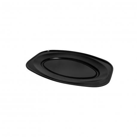 Podnos oválný černý (EPS)  35 x 24,7 cm