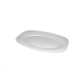 Podnos oválný bílý (EPS)  35 x 24,7 cm