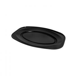 Podnos oválný černý (EPS)  45 x 30,5 cm