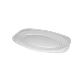 Podnos oválný bílý (EPS)  45 x 30,5 cm