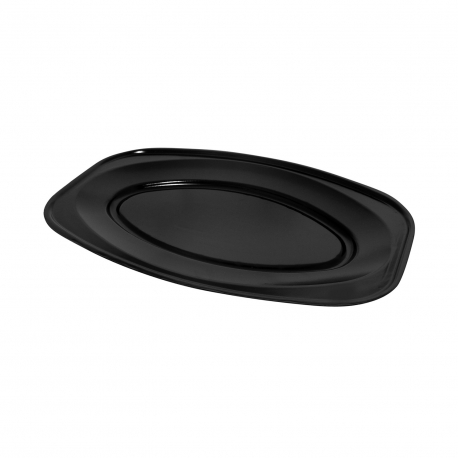 Podnos oválný černý (EPS)  55 x 36 cm