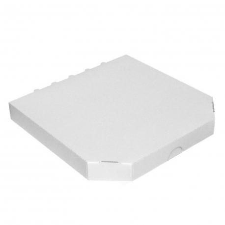 Krabice na pizzu -extra pevná- bílá   (PAP) 32 x 32 x 3 cm