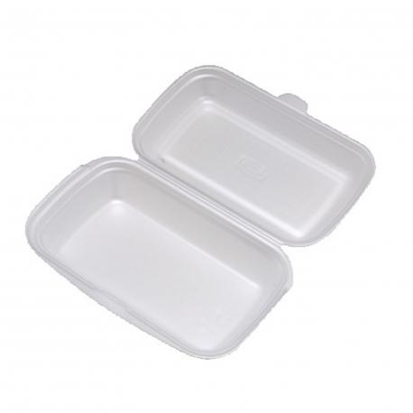 Menu box bílý (EPS)  240 x 133 x 75 mm