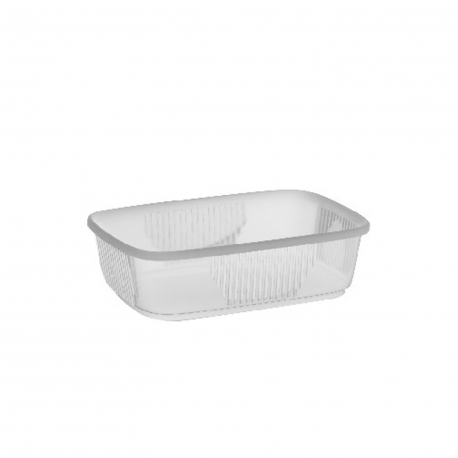 Miska hranatá průhledná 150 ml  (PP) (EKONOMY)