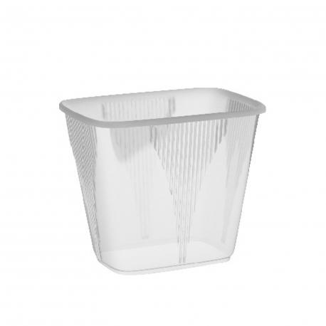 Miska hranatá průhledná 500 ml  (PP) (EKONOMY)