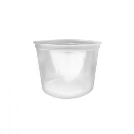 Polévková miska průhledná  500 ml  (PP)