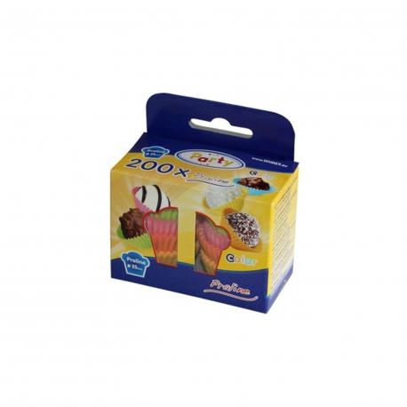 Cukrářské košíčky barevné mix (PAP)  Ø 25 x 18 mm