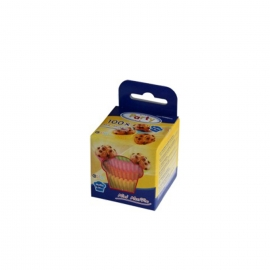 Cukrářské košíčky barevné mix (PAP)  Ø 35 x 20 mm