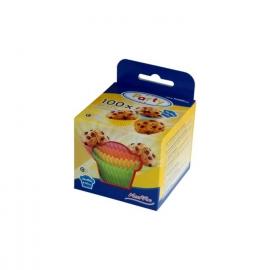 Cukrářské košíčky barevné mix (PAP)  Ø 50 x 30 mm