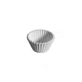 Cukrářské košíčky bílé (PAP)  Ø 20 x 19 mm