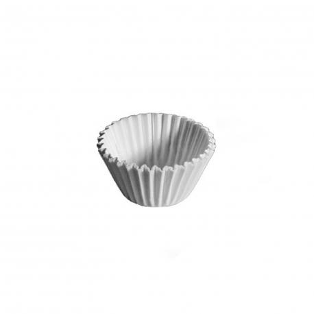 Cukrářské košíčky bílé (PAP)  Ø 24 x 18 mm