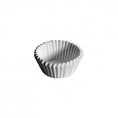 Cukrářské košíčky bílé (PAP)  Ø 26 x 16 mm