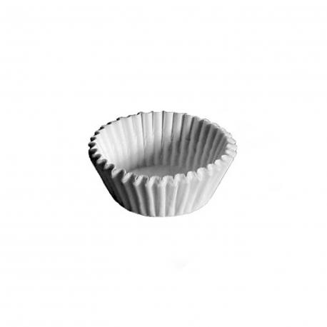 Cukrářské košíčky bílé (PAP)  Ø 28 x 16 mm