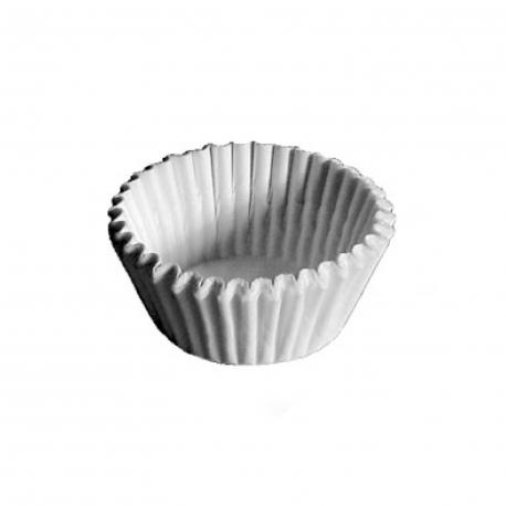 Cukrářské košíčky bílé (PAP)  Ø 45 x 25 mm