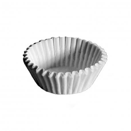 Cukrářské košíčky bílé (PAP)  Ø 55 x 30 mm