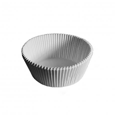 Cukrářské košíčky bílé (PAP)  Ø 60 x 27 mm