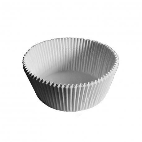 Cukrářské košíčky bílé (PAP)  Ø 70 x 20 mm