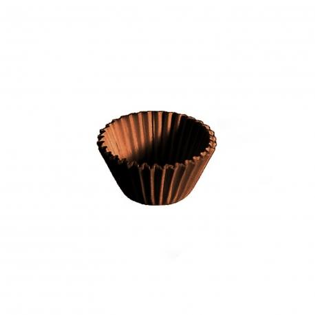 Cukrářské košíčky hnědé (PAP)  Ø 24 x 18 mm