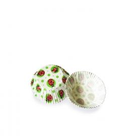 Cukrářské košíčky beruška (PAP)  Ø 50 x 30  mm