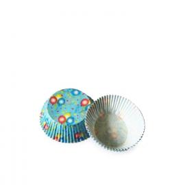 Cukrářské košíčky balónky (PAP)  Ø 50 x 30  mm