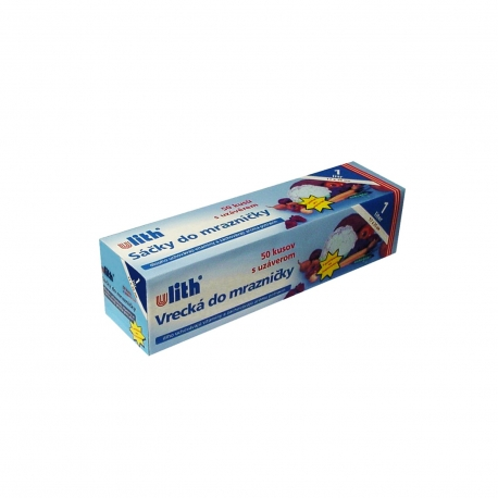 Sáčky do mrazničky 1 L  (LDPE)