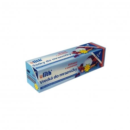 Sáčky do mrazničky 6 L  (LDPE)