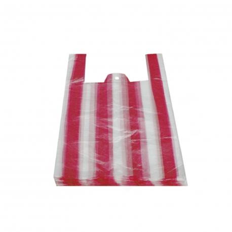 Tašky pruhované 4 kg  (HDPE)