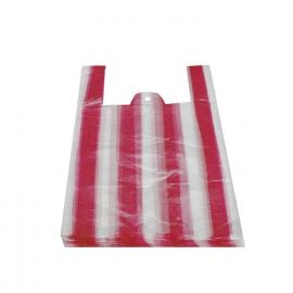 Tašky pruhované 10 kg  (HDPE)