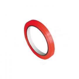 Lepící páska pro zavírací strojek, červená