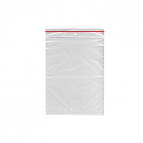 Rychlouzavírací sáčky  8 x 18 cm (LDPE)