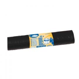 Sáčky do koše černé 60 L (LDPE)