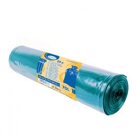 Pytle na odpadky modré 70 L Typ 40  (LDPE)