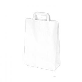 Papírové tašky bílé (PAP) 22 x 10 x 28 cm