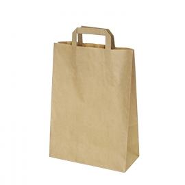 Papírové tašky hnědé (PAP) 26 x 12 x 36 cm