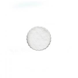 Rozetky do podšálku, bílé Ø 9 cm  (PAP)