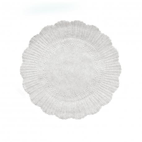 Rozetky, bílé Ø 28 cm   (PAP)