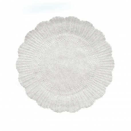 Rozetky, bílé Ø 30 cm   (PAP)