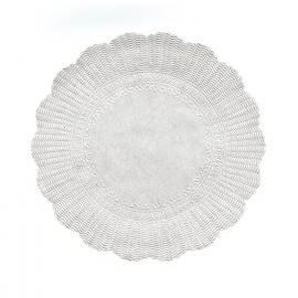 Rozetky, bílé Ø 32 cm  (PAP)