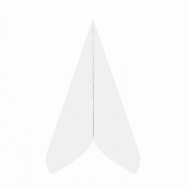 Ubrousky AIRLAID - PREMIUM -  40 x 40 cm -  bílé