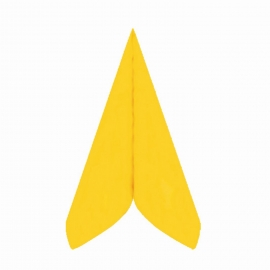 Ubrousky AIRLAID - PREMIUM -  40 x 40 cm -  žluté