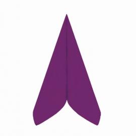 Ubrousky AIRLAID - PREMIUM -  40 x 40 cm -  tmavě fi alové