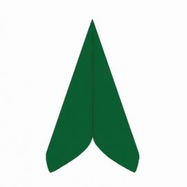 Ubrousky AIRLAID - PREMIUM -  40 x 40 cm - tmavě zelené