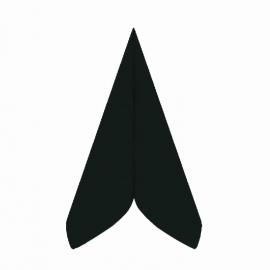 Ubrousky AIRLAID - PREMIUM -  40 x 40 cm - černé