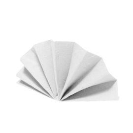 Ubrousky DEKOSTAR (PAP)  40 x 40 cm - bílé
