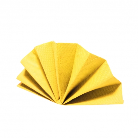 Ubrousky DEKOSTAR (PAP)  40 x 40 cm -  žluté