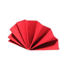 Ubrousky DEKOSTAR (PAP)  40 x 40 cm -  červené